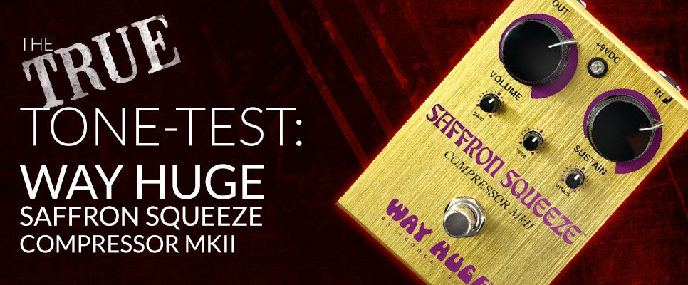 Tone-Test: Way Huge Saffron Squeeze Compressor