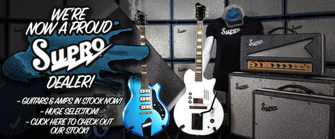 Supro Amps & Guitars!