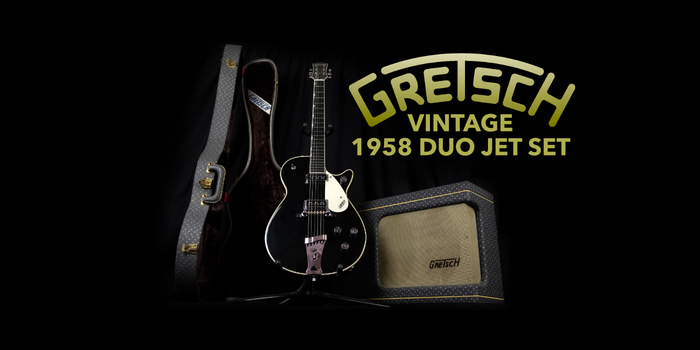 Gretsch Vintage 1958 Duo Jet Set