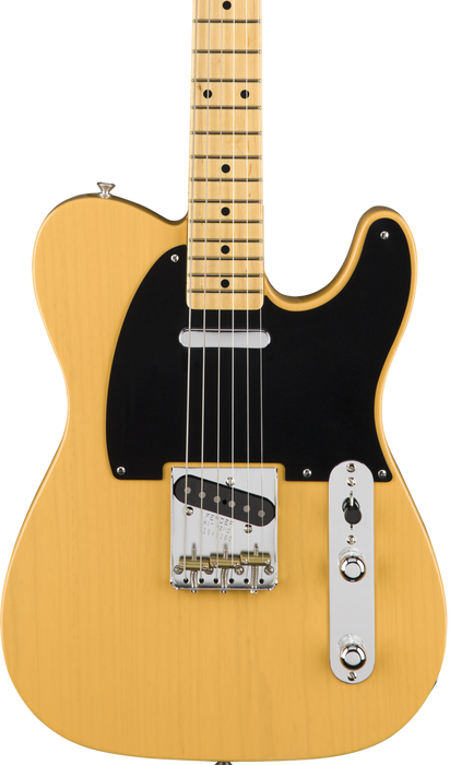 Fender American  Original 50's Telecaster Butterscotch Blonde Maple Fingerboard With Case