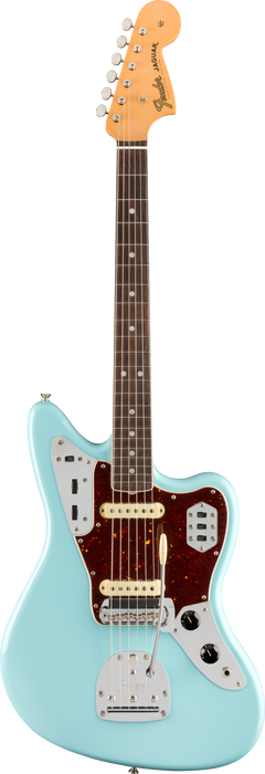 Fender American Original '60s Jaguar Rosewood Fingerboard Daphne Blue Electric Guitar