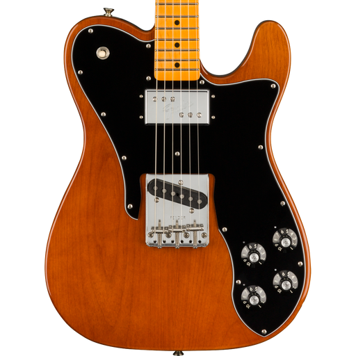 Fender American Original 70s Telecaster Custom Maple Fingerboard Mocha Electric Guitar