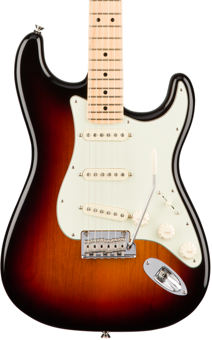 Fender American Professional Stratocaster 3 Tone Sunburst Maple Fingerboard With Case