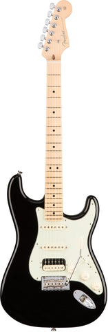 Fender American Professional Stratocaster HSS Shawbucker Guitar Black/Maple