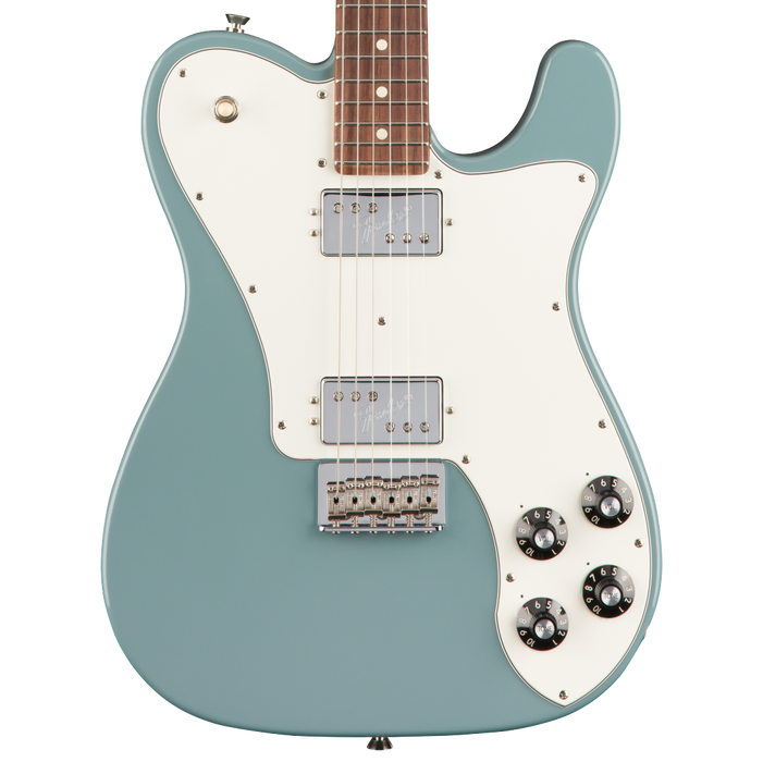 Fender American Professional Telecaster Deluxe Shawbucker Rosewood Fretboard Sonic Gray With Case