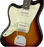 Fender American Pro Left-Handed Jazzmaster Rosewood Fingerboard 3-Color Sunburst Lefty