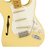 Fender Eric Johnson Signature Stratocaster Thinline Vintage White Maple Fingerboard with Case