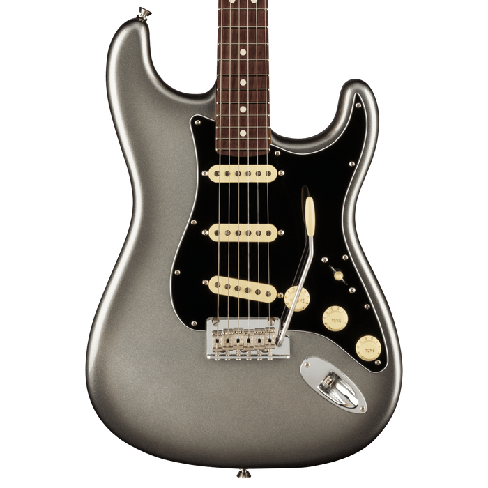 Fender American Professional II Stratocaster Rosewood Fingerboard Mercury Electric Guitar With Case