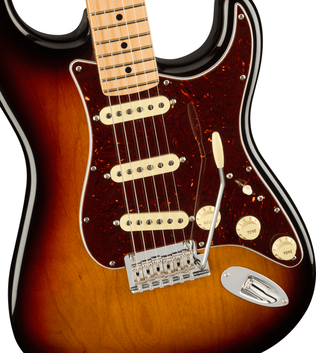 Fender American Professional II Stratocaster Maple Fingerboard 3-Color Sunburst Electric Guitar With Case