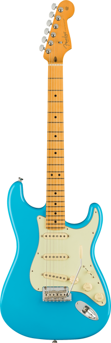 Fender American Professional II Stratocaster Maple Fingerboard Miami Blue Electric Guitar With Case
