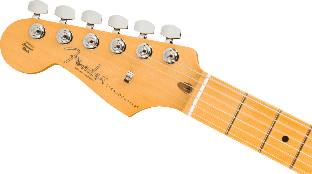Fender American Professional II Stratocaster Left-Hand Maple Fingerboard Mercury Electric Guitar With Case
