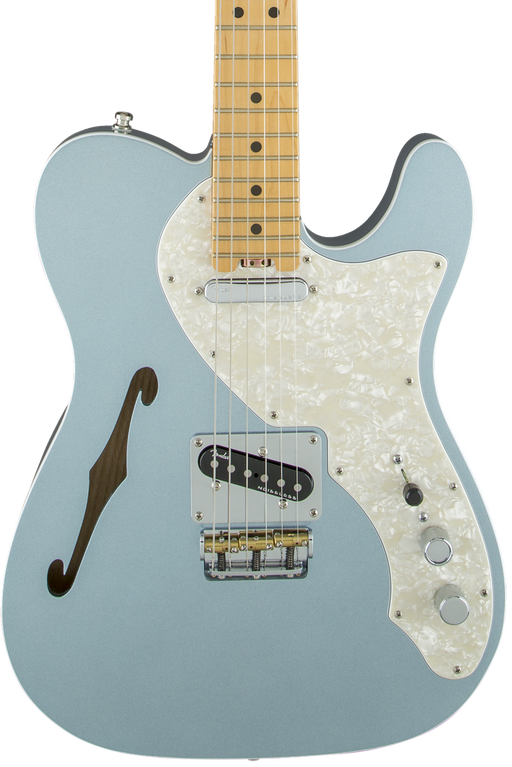 Fender American Eilte Telecaster Thinline Maple Fingerboard Mystic Ice Blue