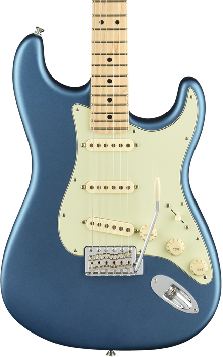 Fender American Performer Stratocaster Satin Lake Placid Blue Maple Fingerboard