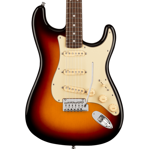 Fender American Ultra Stratocaster Rosewood Fingerboard Ultraburst Electric Guitar With Case