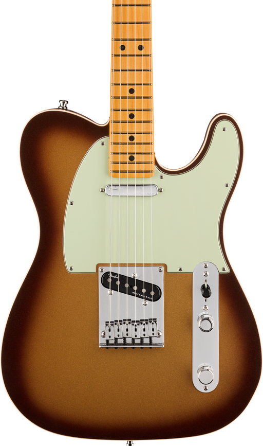 Fender American Ultra Telecaster Maple Fingerboard Mocha Burst With Case
