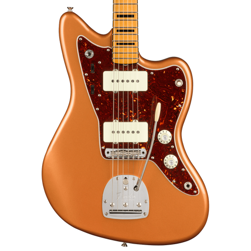 Fender Troy Van Leeuwen Jazzmaster Bound Maple Fingerboard Copper Age Electric Guitar With Case
