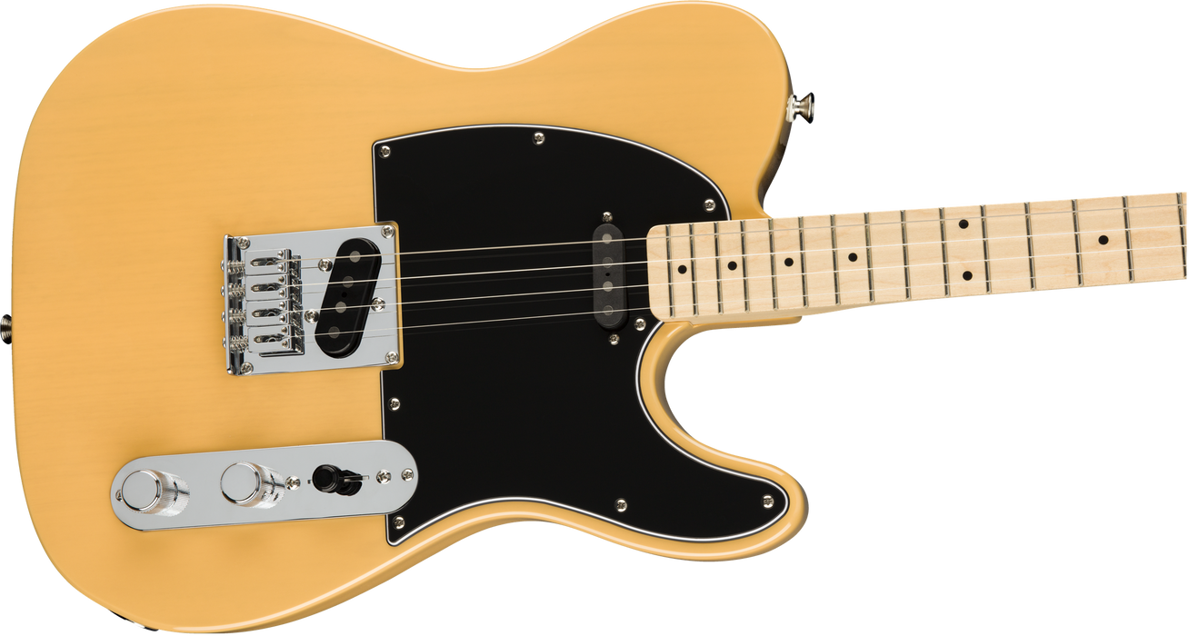 Fender Limited Edition Tenor Tele Maple Fingerboard Butterscotch Blonde Electric Guitar With Bag