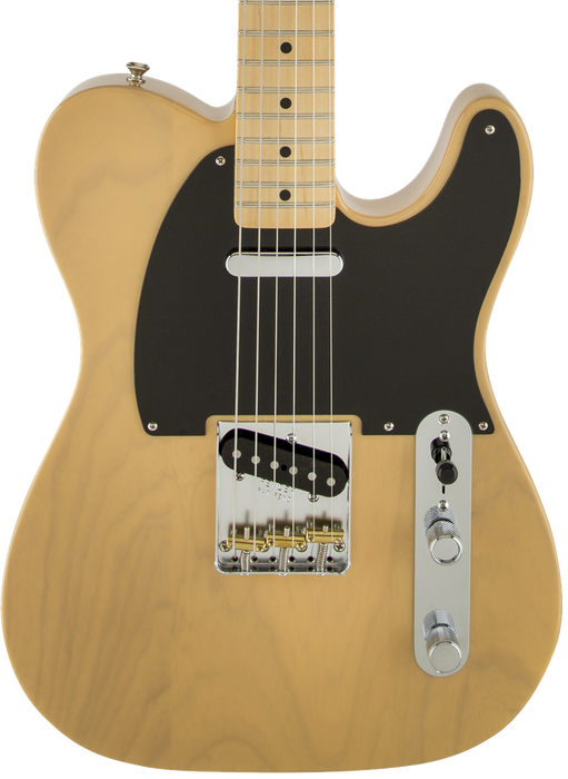 Fender Classic Player Baja Telecaster Maple Fingerboard Blonde With Deluxe Gig Bag