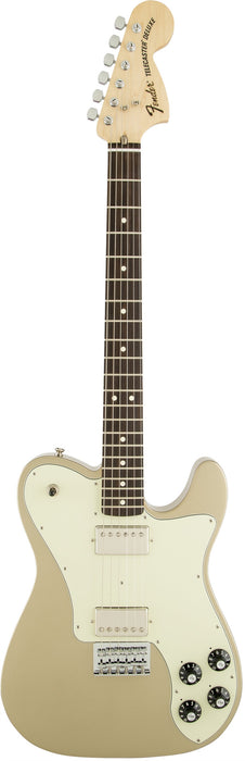 Fender Chris Shiflett Telecaster Deluxe Shoreline Gold Rosewood