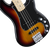Fender Deluxe Active P Bass Special With Bag Sunburst Maple Board