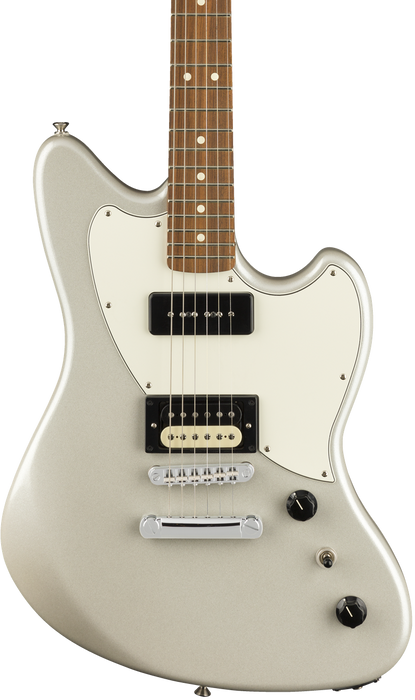 Fender PowerCaster Pau Ferro Fingerboard White Opal With Gig Bag