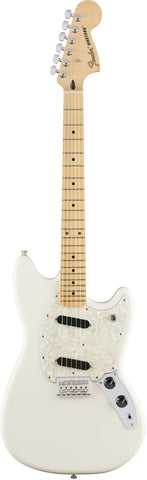 Fender Mustang - Olympic White with Maple Fingerboard