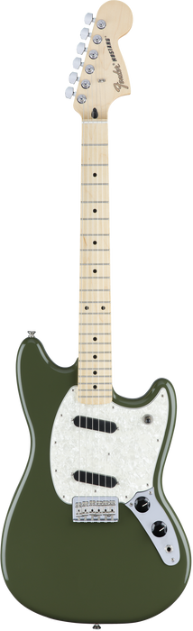 Fender Mustang - Olive with Maple Fingerboard