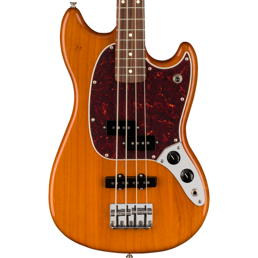 Fender Player Mustang Bass PJ Pau Ferro Aged Natural