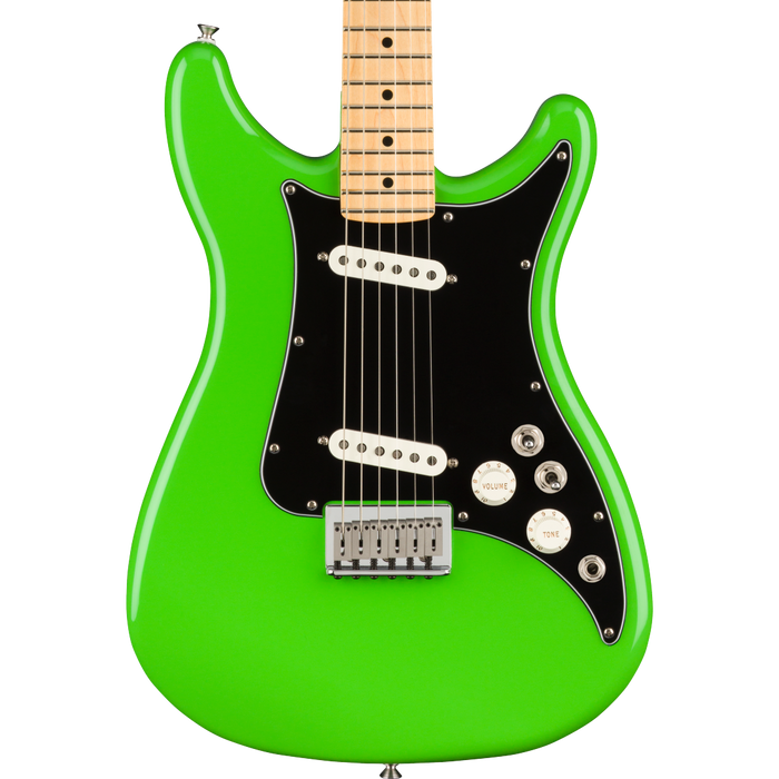 Fender Player Lead II Maple Fingerboard Neon Green Electric Guitar