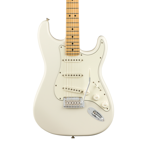Fender Player Stratocaster Electric Guitar, Maple Fingerboard - Polar White
