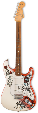 Fender '17 Limited Edition Jimi Hendrix Monterey Stratocaster