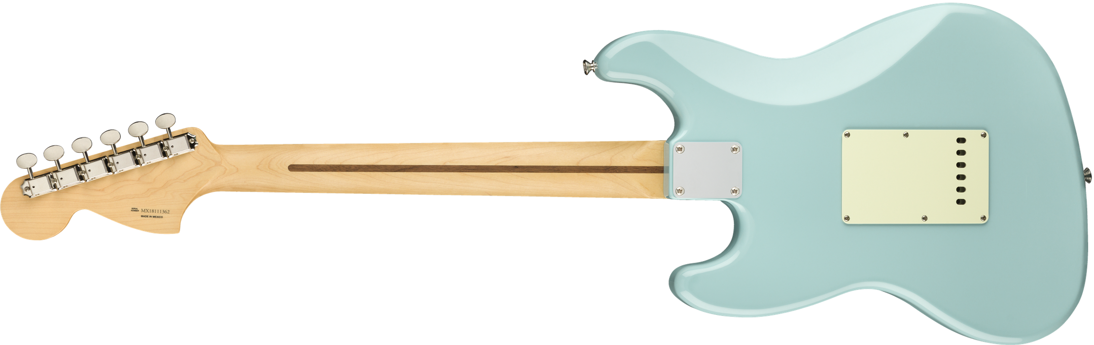 Fender Alternate Reality Sixty-Six Maple Fingerboard Daphne Blue