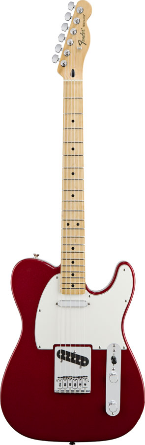 Fender Standard Telecaster Maple Candy Apple Red