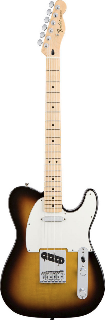 Fender Standard Telecaster Maple Brown Sunburst