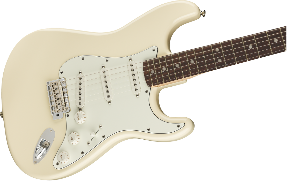 Fender Albert Hammond Jr. Signature Stratocaster Olympic White With Bag