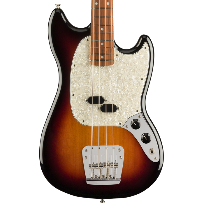Fender Vintera '60s Pau Ferro Fingerboard Mustang Bass - 3-Color Sunburst With Bag