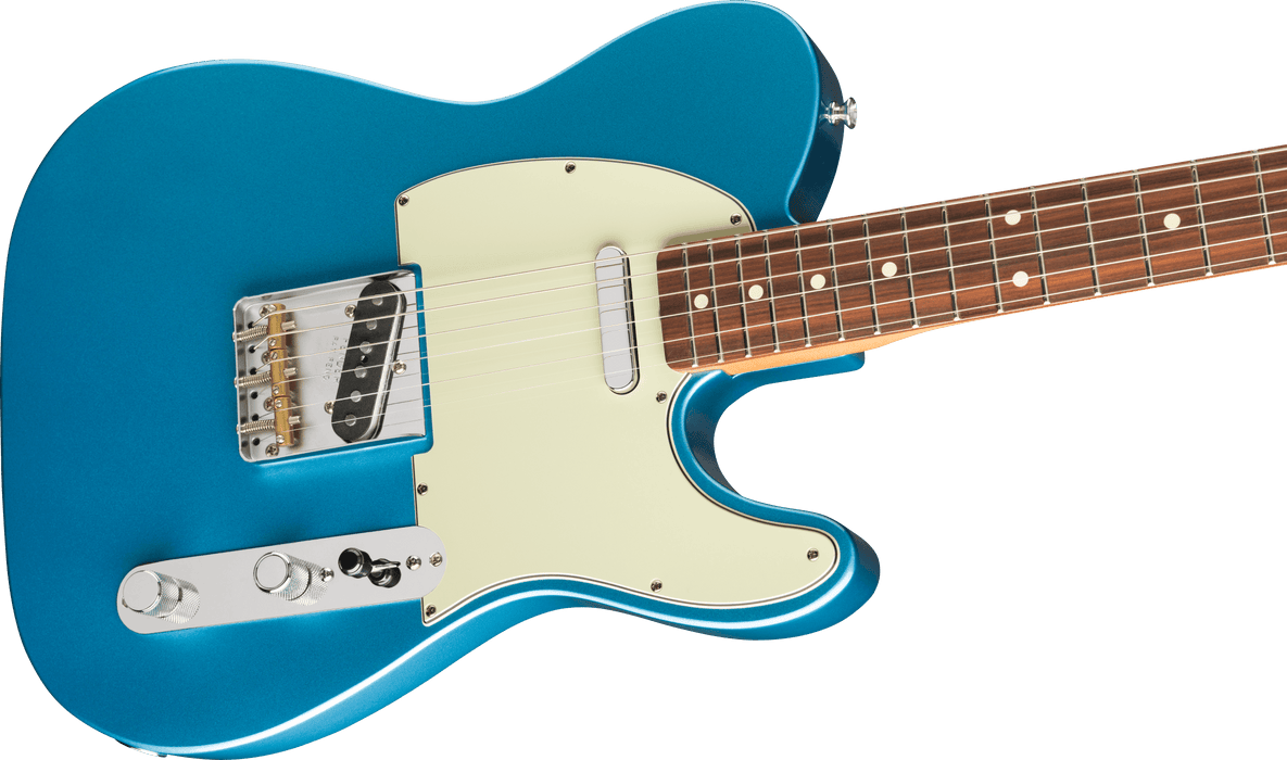 Fender Vintera '60s Telecaster Modified Pau Ferro Fingerboard Lake Placid Blue Electric Guitar With Bag
