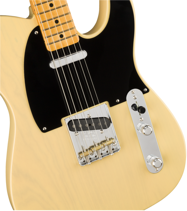 Fender 70th Anniversary Broadcaster Maple Fingerboard Blackguard Blonde Electric Guitar