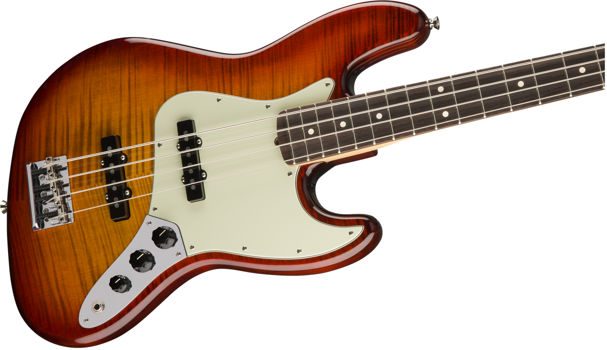 Fender Limited Edition Exotic Collection American Professional Jazz Bass Flametop With Case