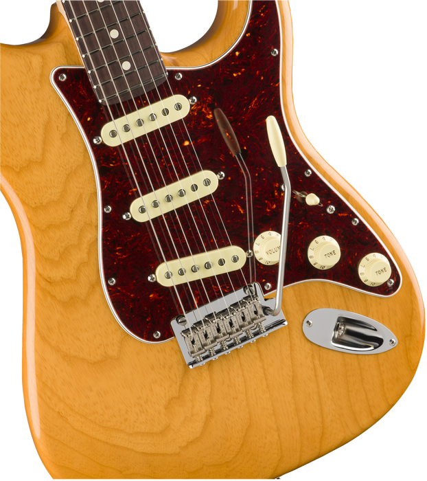 Fender Limited Edition American Professional Light Ash Stratocaster - Aged Natural with Case