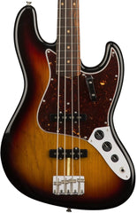 Fender American Original 60's Jazz Bass 3 Tone Sunburst Rosewood Fingerboard With Case