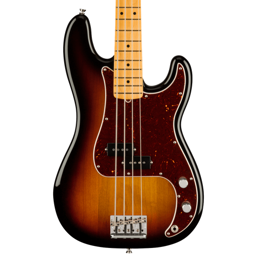 Fender American Professional II Precision Bass Maple Fingerboard 3-Color Sunburst With Case