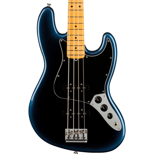 Fender American Professional II Jazz Bass Maple Fingerboard Dark Night With Case