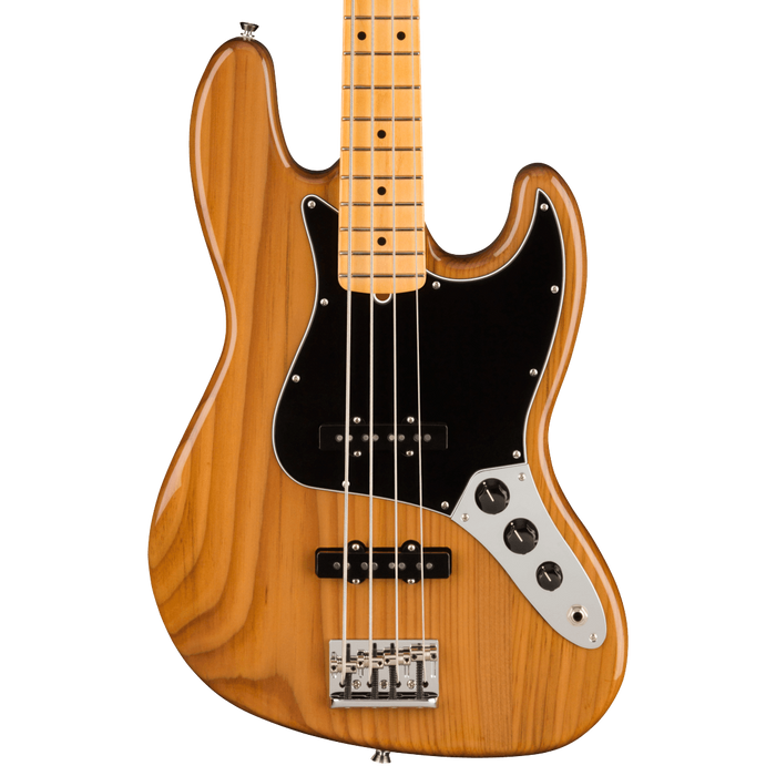 Fender American Professional II Jazz Bass Maple Fingerboard Roasted Pine With Case