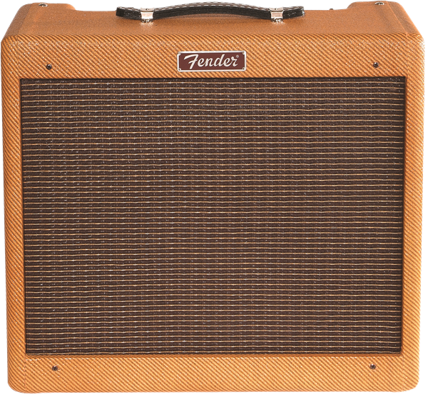 Fender Blues Jr. Limited Edition Lacquered Tweed 1x12 EL-84 Tube Combo Guitar Amplifier