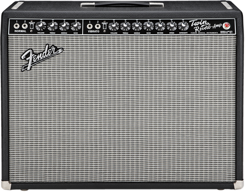 Fender Black Face 65 Twin Reverb Tube Guitar Amplifier