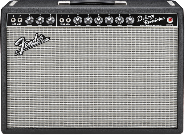 Fender 65 Deluxe Reverb Tube Combo Guitar Amplifier
