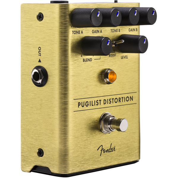 Fender Pugilist Distortion Guitar Effect Pedal