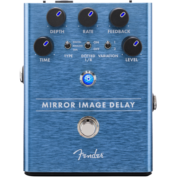 Fender Mirror Image Delay Guitar Effect Pedal