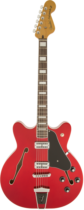 Fender Coronado Guitar Rosewood Candy Apple Red